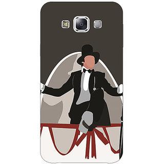 1 Crazy Designer Bollywood Superstar Anthony Gonsalves Back Cover Case For Samsung Galaxy E5 C441115
