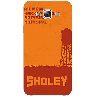 1 Crazy Designer Bollywood Superstar Sholay Back Cover Case For Samsung Galaxy E5 C441125