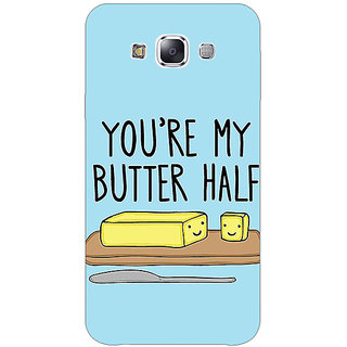 1 Crazy Designer Quotes Better half Back Cover Case For Samsung Galaxy E5 C441140