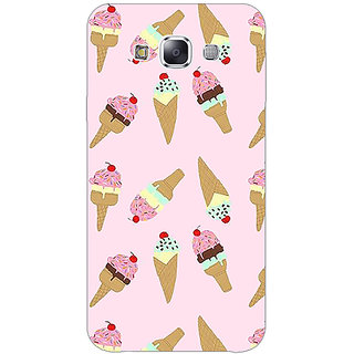1 Crazy Designer Ice Cream Doodle Back Cover Case For Samsung Galaxy E5 C441326