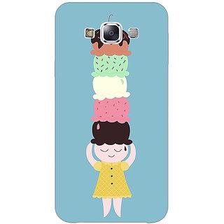 1 Crazy Designer Ice Cream Back Cover Case For Samsung Galaxy E5 C441340