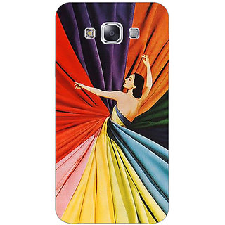 1 Crazy Designer Colours Back Cover Case For Samsung Galaxy E5 C441381