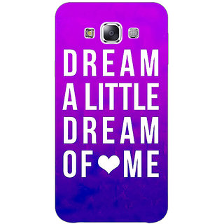 1 Crazy Designer Dream Love Back Cover Case For Samsung Galaxy A5 C450091