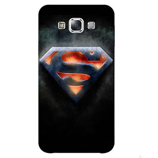 1 Crazy Designer Superheroes Superman Back Cover Case For Samsung Galaxy A5 C450386