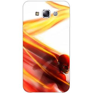1 Crazy Designer Flash Back Cover Case For Samsung Galaxy E5 C441434
