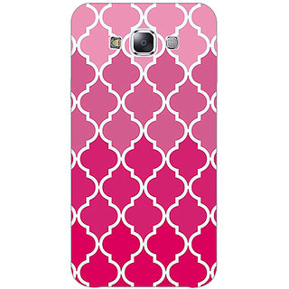 1 Crazy Designer Morocco Pattern Back Cover Case For Samsung Galaxy E5 C441439