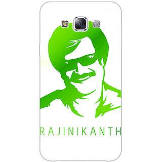 1 Crazy Designer Rajni Rajanikant Back Cover Case For Samsung Galaxy E5 C441492