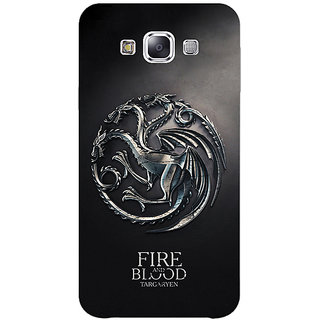 1 Crazy Designer Game Of Thrones GOT House Targaryen  Back Cover Case For Samsung Galaxy A5 C450145