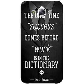 1 Crazy Designer SUITS Quotes Back Cover Case For Samsung Galaxy A5 C450476