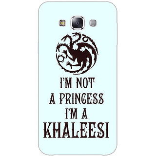 1 Crazy Designer Game Of Thrones GOT Princess Khaleesi Back Cover Case For Samsung Galaxy E5 C441538