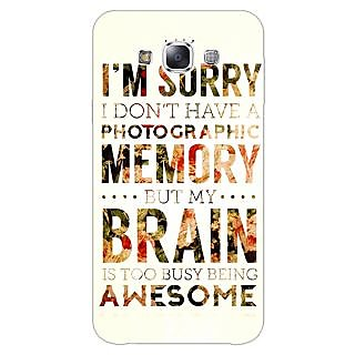 1 Crazy Designer SUITS Quotes Back Cover Case For Samsung Galaxy A5 C450481