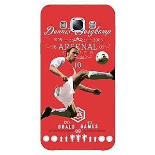 1 Crazy Designer Arsenal Dennis Bergkamp Back Cover Case For Samsung Galaxy A5 C450501