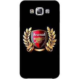 1 Crazy Designer Arsenal Back Cover Case For Samsung Galaxy A5 C450504