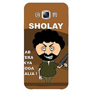 1 Crazy Designer Bollywood Superstar Sholay Back Cover Case For Samsung Galaxy A5 C451123