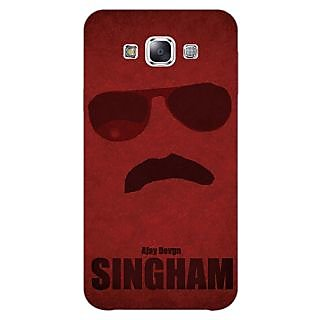 1 Crazy Designer Bollywood Superstar Singham Back Cover Case For Samsung Galaxy A5 C451126