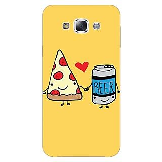 1 Crazy Designer Pizza Loves Beer Back Cover Case For Samsung Galaxy A5 C451141