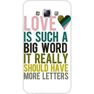 1 Crazy Designer Quotes Love Back Cover Case For Samsung Galaxy A5 C451152