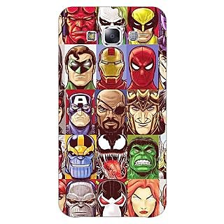1 Crazy Designer Super Heroes and Villains Back Cover Case For Samsung Galaxy A5 C451401