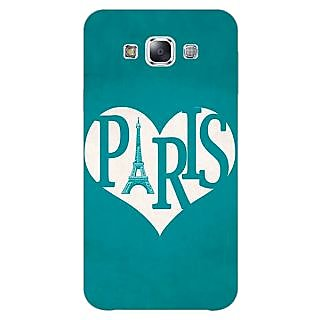1 Crazy Designer Paris love Back Cover Case For Samsung Galaxy A5 C451404