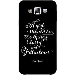 1 Crazy Designer Quote Back Cover Case For Samsung Galaxy A5 C451409