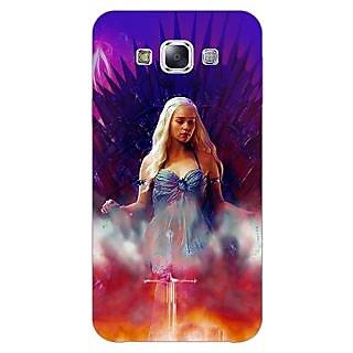 1 Crazy Designer Game Of Thrones GOT Khaleesi Daenerys Targaryen Back Cover Case For Samsung Galaxy E5 C441552