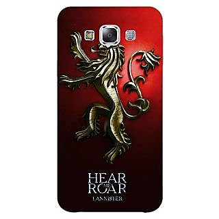 1 Crazy Designer Game Of Thrones GOT House Lannister Back Cover Case For Samsung Galaxy E5 C441553