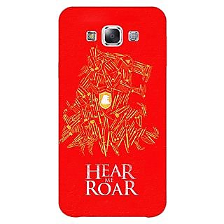 1 Crazy Designer Game Of Thrones GOT House Lannister Tyrion Back Cover Case For Samsung Galaxy E5 C441558