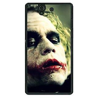 1 Crazy Designer Villain Joker Back Cover Case For Sony Xperia Z C460036