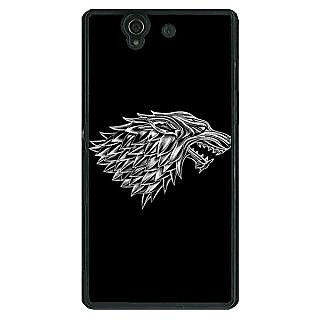 1 Crazy Designer Game Of Thrones GOT House Stark  Back Cover Case For Sony Xperia Z C460136