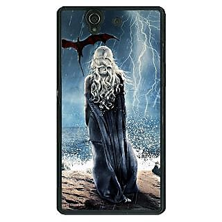 1 Crazy Designer Game Of Thrones GOT House Targaryen  Back Cover Case For Sony Xperia Z C460147