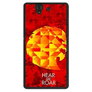 1 Crazy Designer Game Of Thrones GOT House Lannister  Back Cover Case For Sony Xperia Z C460159