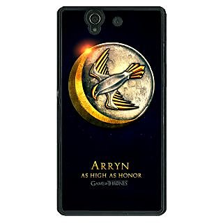 1 Crazy Designer Game Of Thrones GOT House Arryn  Back Cover Case For Sony Xperia Z C460170
