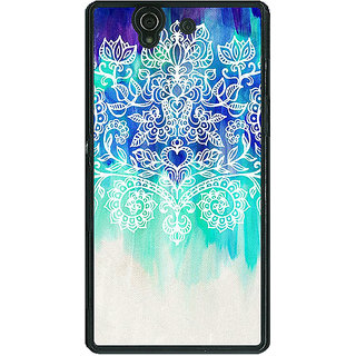 1 Crazy Designer Royal Queen Pattern Back Cover Case For Sony Xperia Z C460231