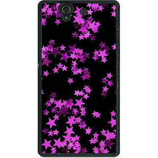 1 Crazy Designer Starry Night  Back Cover Case For Sony Xperia Z C460804