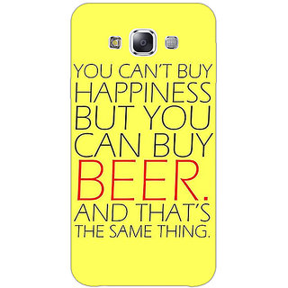 1 Crazy Designer Beer Quote Back Cover Case For Samsung Galaxy A5 C451231