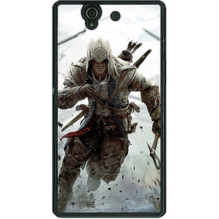 1 Crazy Designer Assassins Creed Back Cover Case For Sony Xperia Z C460841
