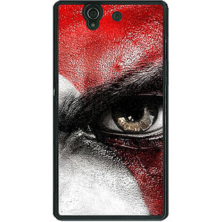 1 Crazy Designer God of War Back Cover Case For Sony Xperia Z C460854