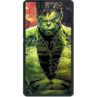 1 Crazy Designer The Incredible Hulk Back Cover Case For Sony Xperia Z C460859