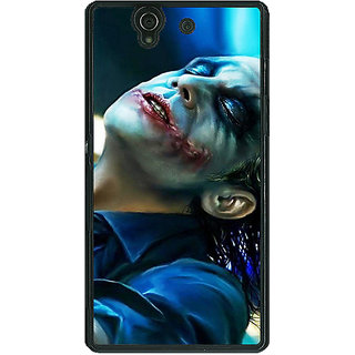 1 Crazy Designer Superheroes Villain Joker Back Cover Case For Sony Xperia Z C460868