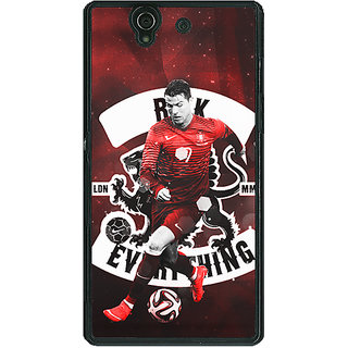 1 Crazy Designer Cristiano Ronaldo Portugal Back Cover Case For Sony Xperia Z C460319