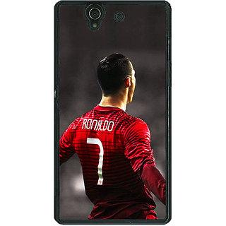 1 Crazy Designer Cristiano Ronaldo Portugal Back Cover Case For Sony Xperia Z C460321