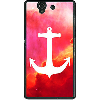 1 Crazy Designer Anchor Back Cover Case For Sony Xperia Z C460602