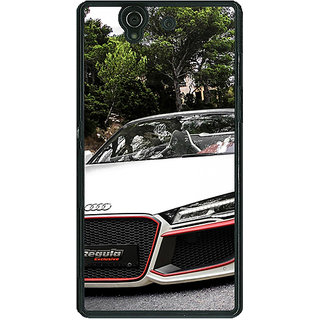 1 Crazy Designer Super Car Audi Back Cover Case For Sony Xperia Z C460618