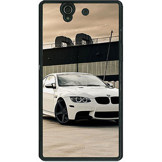 1 Crazy Designer Super Car BMW Back Cover Case For Sony Xperia Z C460625