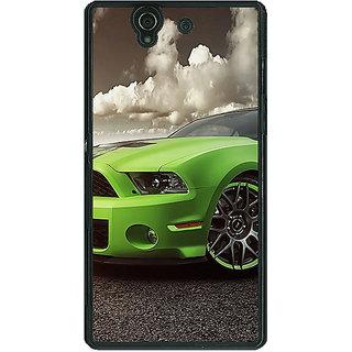1 Crazy Designer Super Car Mustang Back Cover Case For Sony Xperia Z C460635