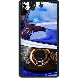 1 Crazy Designer Super Car BMW Back Cover Case For Sony Xperia Z C460636