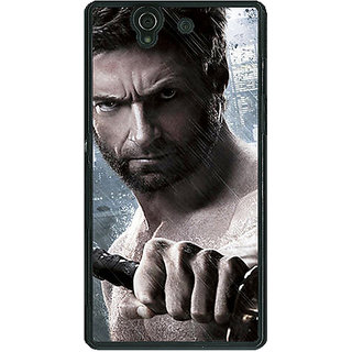 1 Crazy Designer Wolverine Hugh Jackman Back Cover Case For Sony Xperia Z C460893