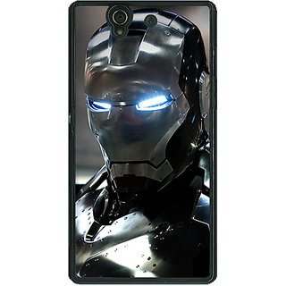 1 Crazy Designer Superheroes Ironman Back Cover Case For Sony Xperia Z C460899