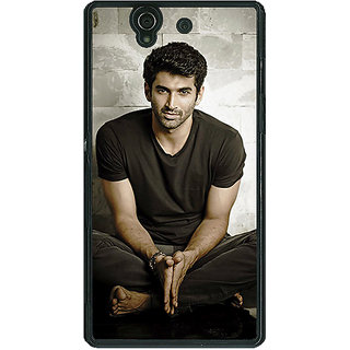 1 Crazy Designer Bollywood Superstar Aditya Roy Kapoor Back Cover Case For Sony Xperia Z C460902