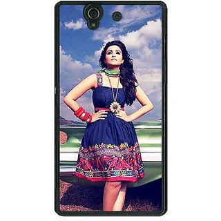 1 Crazy Designer Bollywood Superstar Parineeti Chopra Back Cover Case For Sony Xperia Z C461003